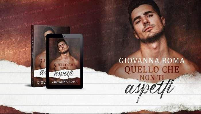 Giovanna Roma - Quello che non ti aspetti -cover