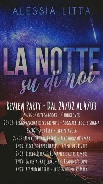 Alessia Litta - la notte su di noi- review party