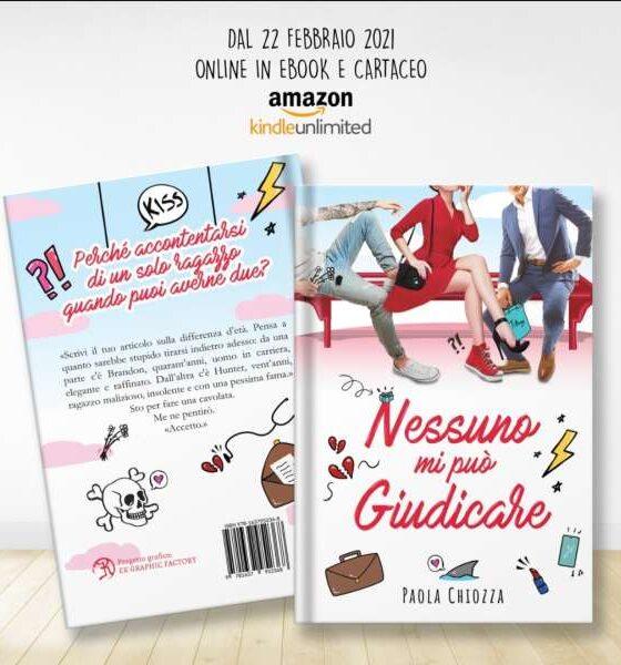 Paola Chiozza- nessuno mi può giudicare - libreria